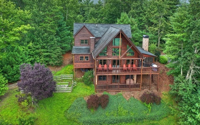 Gilmer County Single Family Home For Sale: 870 Laurel Creek Trail