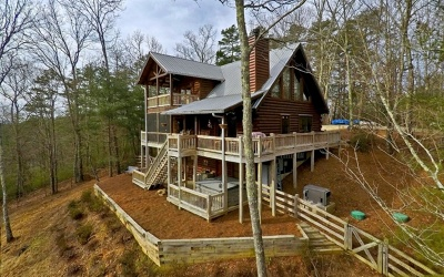 Gilmer County Single Family Home For Sale: 259 Cherry Log Summit Dr