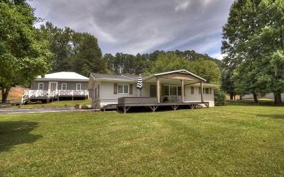 McCaysville Single Family Home For Sale: 1025 Mineral Bluff Hwy
