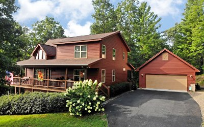 Blairsville Single Family Home For Sale: 63 Upper Fox Trail