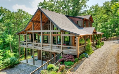 Blue Ridge Single Family Home For Sale: Ridges Over The Lake