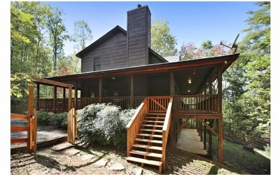 Hiawassee Single Family Home For Sale: 1577 John Deer Lane