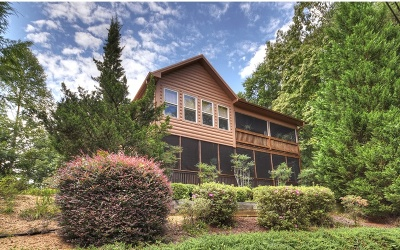 Blue Ridge Single Family Home For Sale: 256 Mountain Hideaway Dr