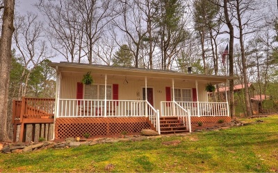 Ellijay Single Family Home For Sale: 180 Francis Way