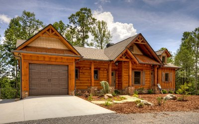 Blue Ridge Single Family Home For Sale: Lot 1 Overlook At Br