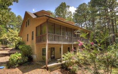 Ellijay Single Family Home For Sale: 202 Mountain Springs Cir