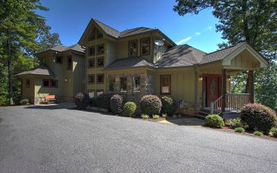 Blairsville Single Family Home For Sale: 391 Arrowood Landing