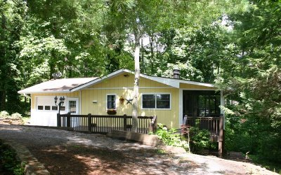 Hayesville Single Family Home For Sale: 726 Chatuge Vill Crl