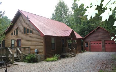 Blairsville Single Family Home For Sale: 799 Barnes Creek Road
