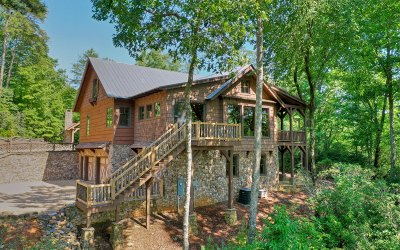Ellijay Single Family Home For Sale: 500 Chief Whitetails