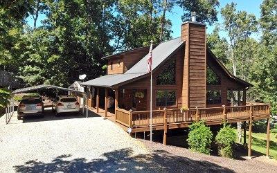 Blairsville Single Family Home For Sale: 139 Cedar Creek Drive