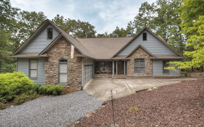 Mineral Bluff Single Family Home For Sale: 312 Woodlands Bluff Lane