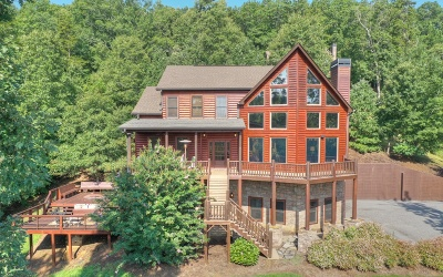 Blairsville Single Family Home For Sale: 645 Arrowood Landing