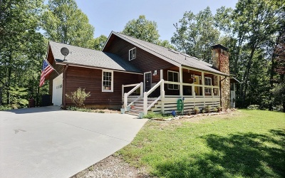 Blairsville Single Family Home For Sale: 125 Spivey Ridge