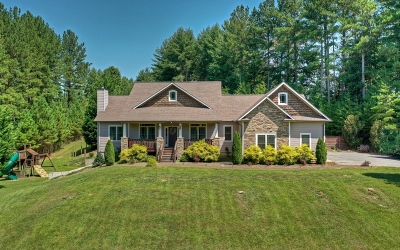 Blue Ridge Single Family Home For Sale: 357 Watkins Road