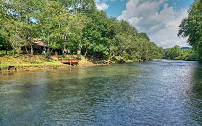 Mineral Bluff Single Family Home For Sale: 728 Toccoa River Forest