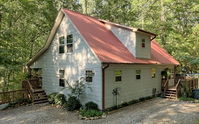 Blairsville Single Family Home For Sale: 208 Saddle Ridge Dr.