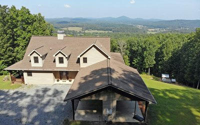 Blairsville Single Family Home For Sale: 863 Stennes Gap Rd