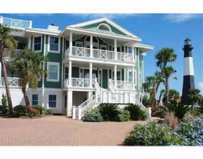 Tybee Island Single Family Home For Sale: 102 General George Marshall Boulevard