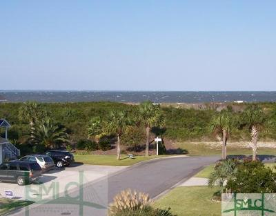 Tybee Island Condo/Townhouse For Sale: 61 Captains View