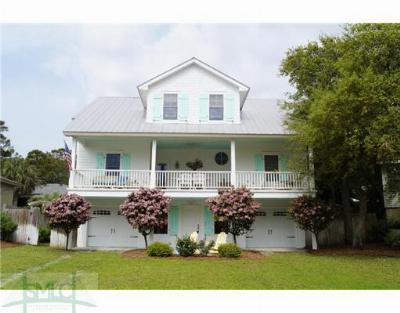 Tybee Island Single Family Home For Sale: 209 Lovell Avenue