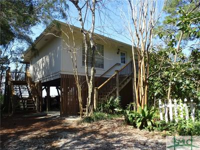 Tybee Island Single Family Home For Sale: 143 S Campbell