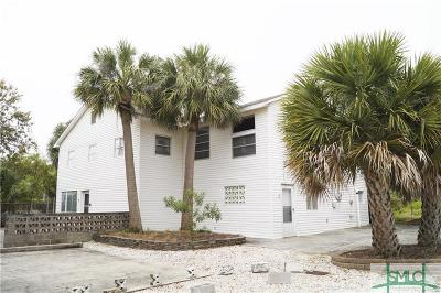 Tybee Island Single Family Home For Sale: 3 9th Terrace
