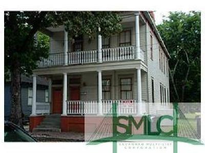 Savannah Multi Family Home For Sale: 1520 Jefferson Street