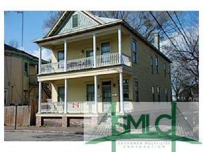 Savannah Multi Family Home For Sale: 1519 Jefferson Street