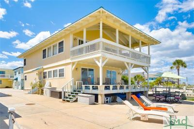 Tybee Island Single Family Home For Sale: 2a And 2b Second Terrace