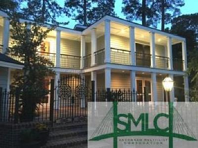 Savannah Single Family Home For Sale: 15 Wesley Crossing