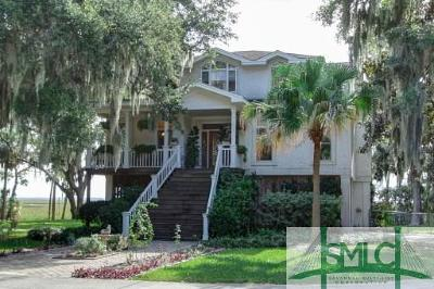 Wilmington Island Single Family Home For Sale: 1512 Walthour Road #1512/151