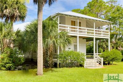 Tybee Island GA Single Family Home For Sale: $1,995,000