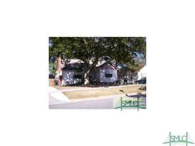 Savannah Single Family Home For Sale: 1508 E 36th Street