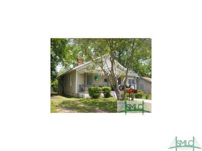 Savannah Single Family Home For Sale: 1626 Chester Street