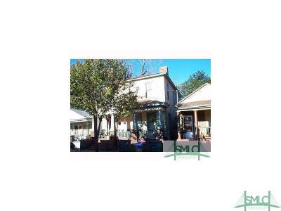 Savannah Single Family Home For Sale: 2121 Florance Street