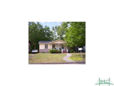 Savannah Single Family Home For Sale: 2221 Hanson Street