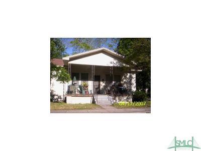Savannah Single Family Home For Sale: 19 Helmken Street
