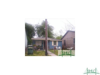 Savannah Single Family Home For Sale: 256 Cumming Street