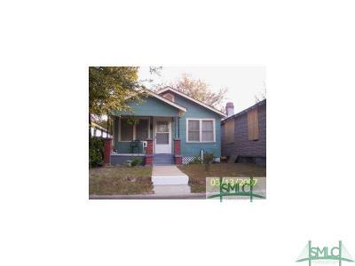 Savannah Single Family Home For Sale: 624 W 47th Street