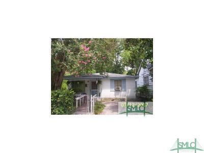 Savannah Single Family Home For Sale: 208 Cumming Street