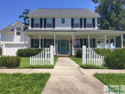Savannah GA Single Family Home For Sale: $309,500