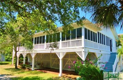 Tybee Island Single Family Home For Sale: 10 8th Place