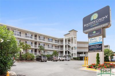 Tybee Island Condo/Townhouse For Sale: 404 Butler Avenue #222