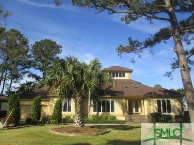 Savannah Single Family Home For Sale: 4 Melinda Circle