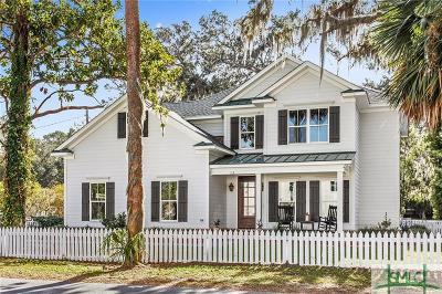 Savannah Single Family Home Active Contingent: 113 Parkersburg Road