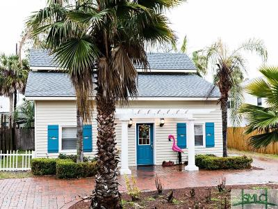 Tybee Island GA Single Family Home For Sale: $440,000
