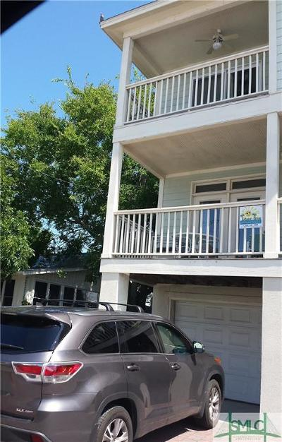 Tybee Island Condo/Townhouse For Sale: 12 Izlar #A