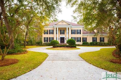 Savannah Single Family Home For Sale: 6 Anderson Court