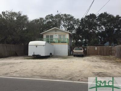 Tybee Island GA Single Family Home For Sale: $305,000